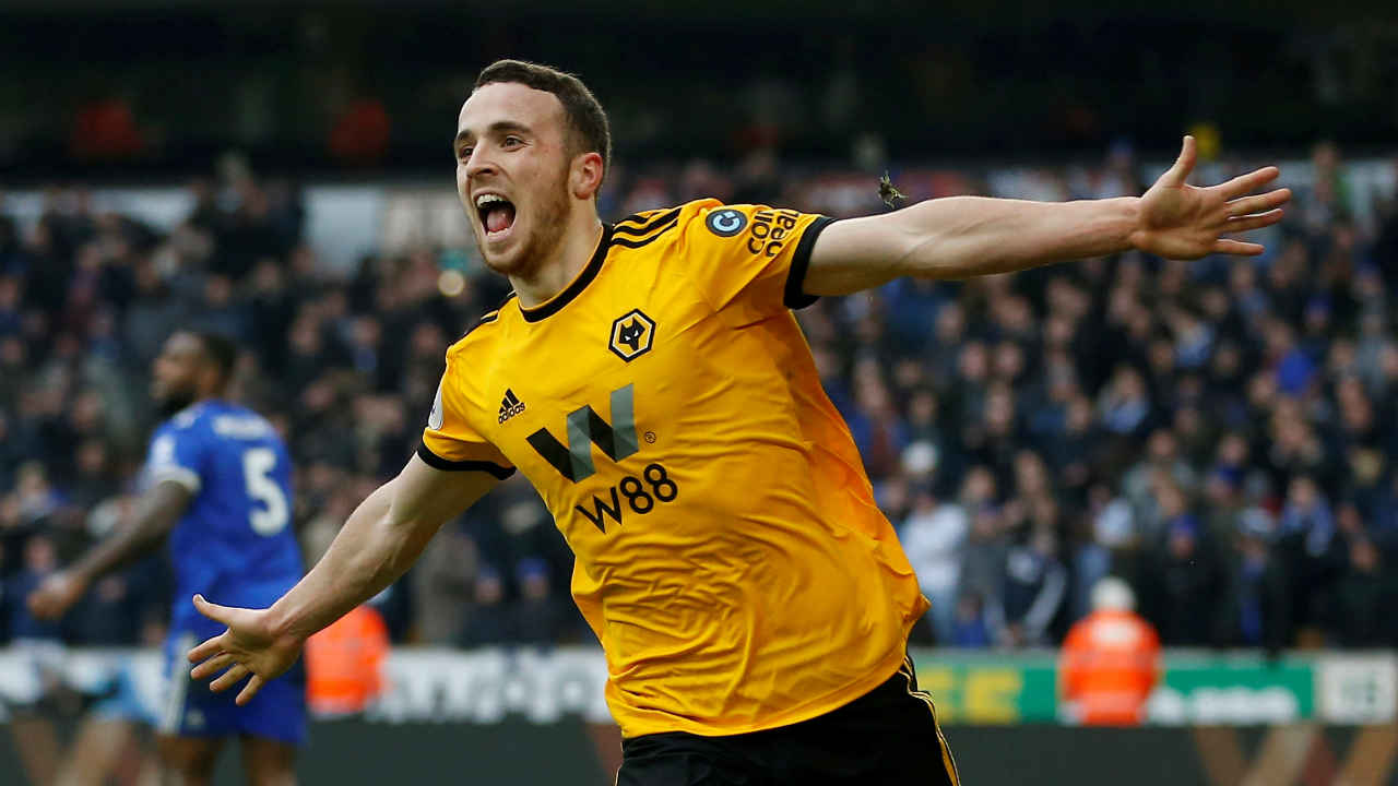 Wolverhampton Wanderers 4 - 3 Leicester City | Diogo Jota scored a stoppage time (90'+3') winner to earn Wolverhampton Wanderers an amazing win over Leicester City in one of the best games of the season so far. Jota put Wolves ahead in the fourth minute. Ryan Bennett (12') goal put the home side in the driving seat. Leicester City then came back thanks to the goals from Demarai Gray (47') and Conor Coady (51' OG). Jota's 6th minute goal gave back the control to Wolves. However, Wes Morgan's 87th minute goal again brought the match on level pegging. But Jota's injury time goal helped Wolves secure all three points. (Image: Reuters)