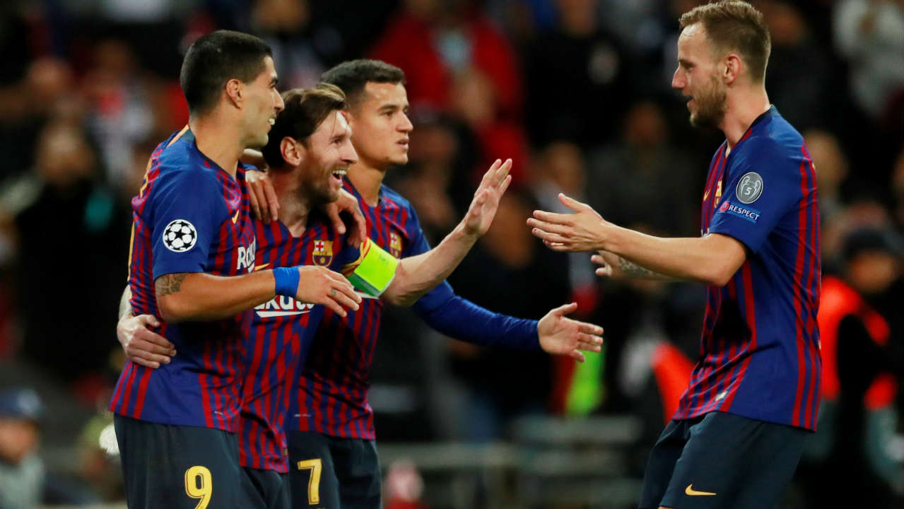 2. Barcelona (611.6 million pounds) | Barca climbed one place to make it the first time Spanish clubs finished in the top two since 2014-15. The clubs commercial revenue was the biggest factor in their rise as they signed a new shirt sponsorship deal with Japanese e-commerce giant Rakuten. Winning the La Liga also helped boost their broadcast revenue. (Image: Reuters)