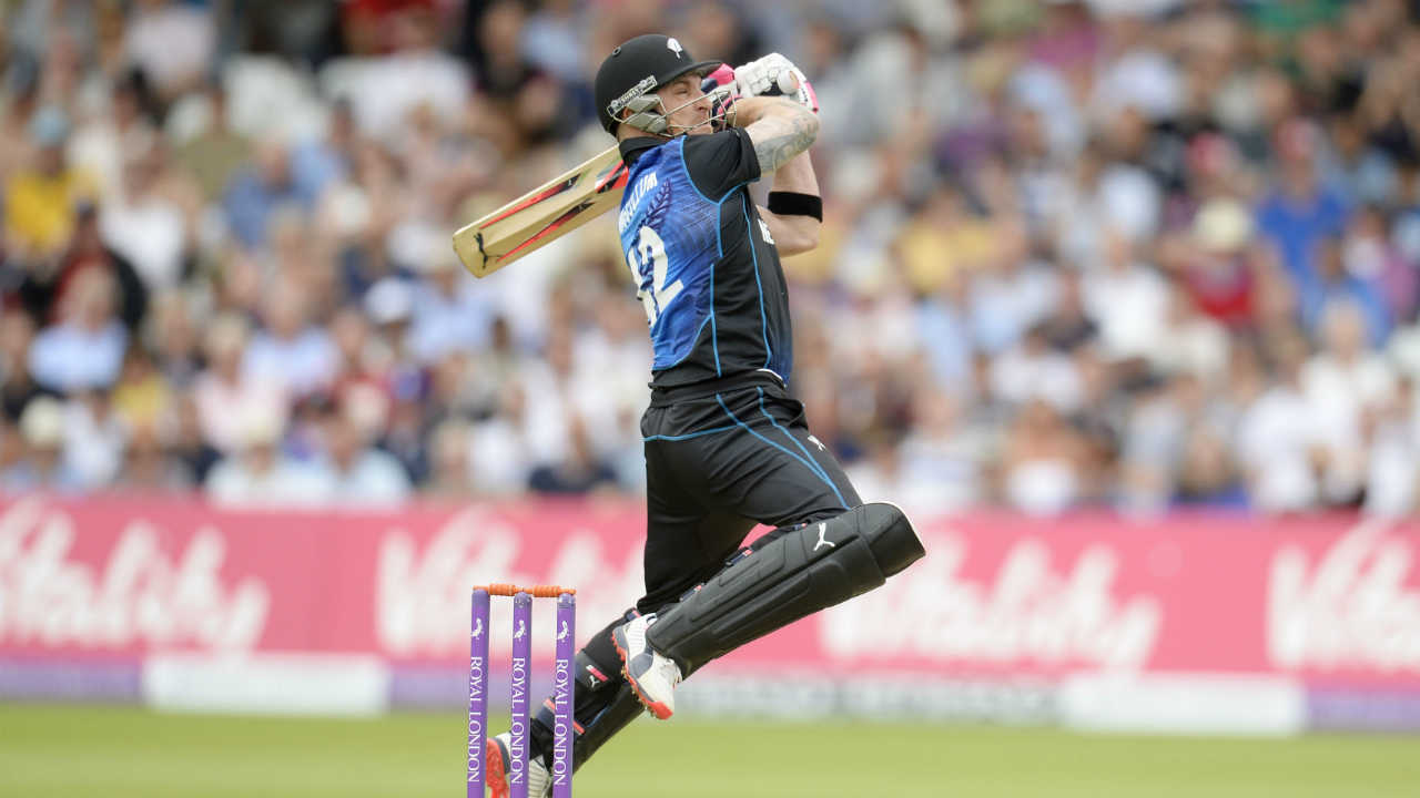 In 4 T20I matches, former NZ skipper Brendon McCullum scored 261 runs at an average of 130.50. This makes McCullum with most T20I runs in New Zeland-India matches. (Image: Reuters)