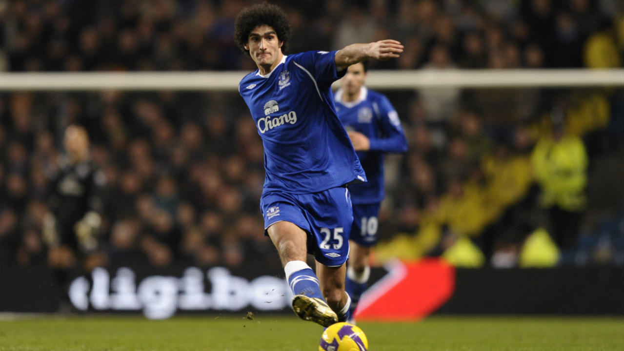 Marouane Fellaini (Standard Liege to Everton) | The lanky midfielder arrived at Goodison park on the last day of the transfer window in 2008. He spent five successful years with Everton helping them consistently challenge for a place in the top six before departing for Manchester United along with manager David Moyes. (Image: Reuters)