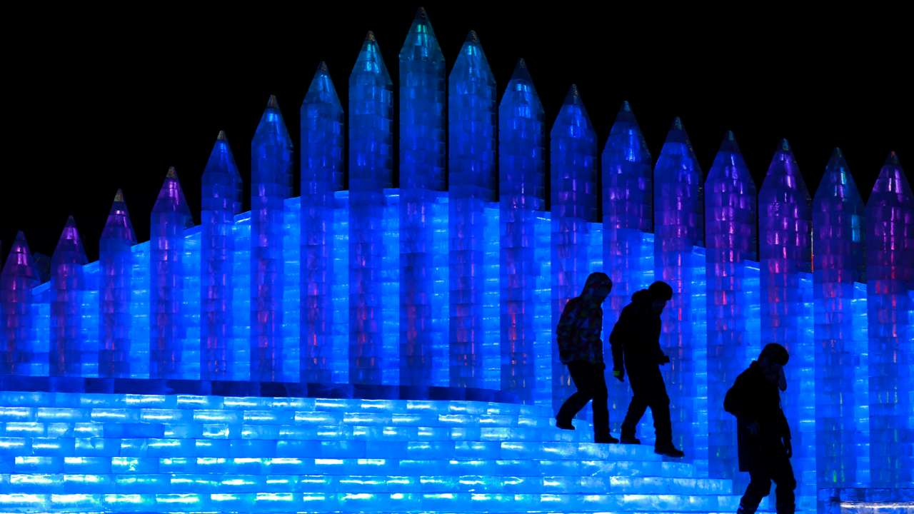 It is now considered one of the biggest winter festivals around the world, joining the ranks of the Quebec Winter Carnival in Canada, Norway's Holmenkollen Ski Festival and Japan's Sapporo Snow Festival. (Image: AP)