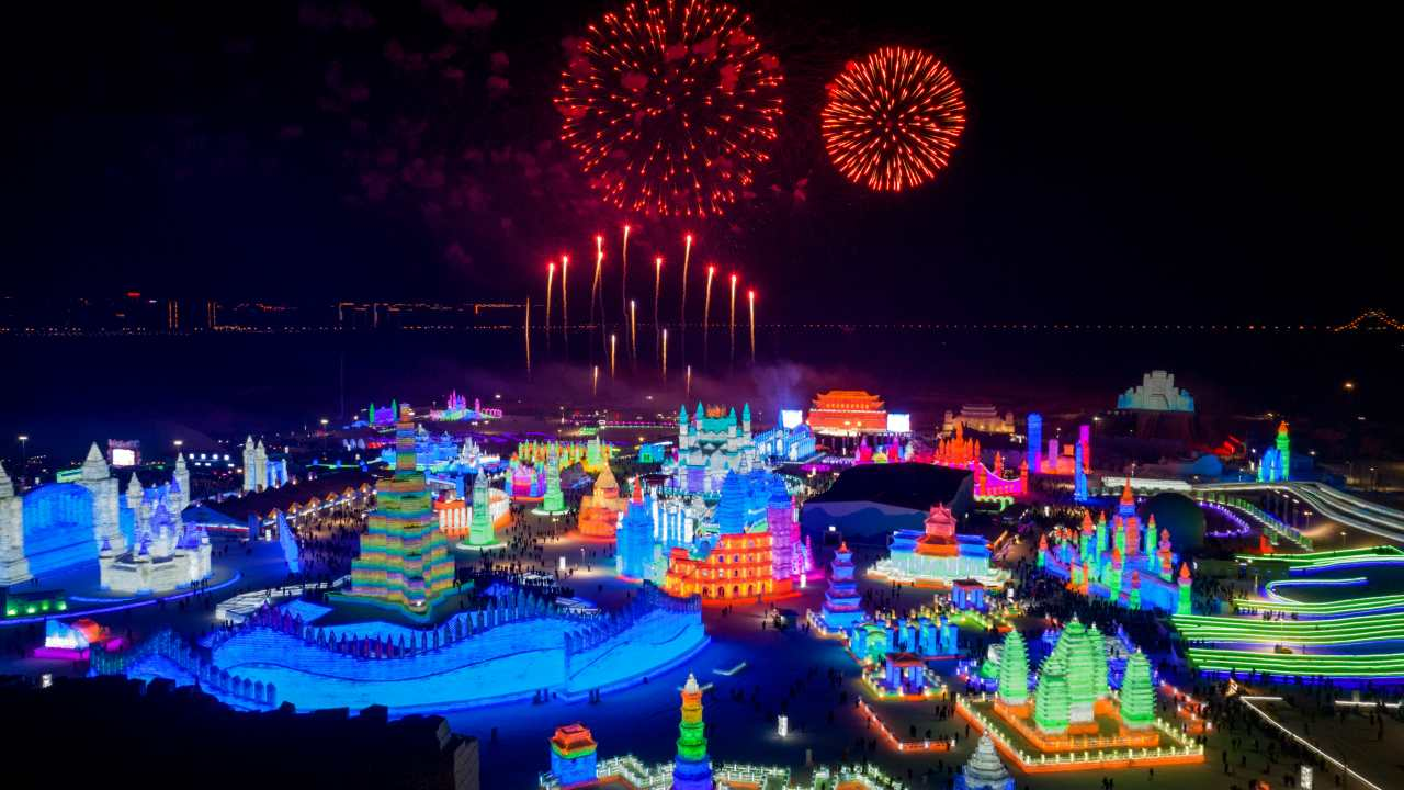 Despite being one of the coldest city in the East Asian country, with the average temperature in January dropping to -12-degree Celsius, more than 10 million people flock to Harbin each year to witness the grandeur, which officially runs from January 5 to February 5. (Image: AP)
