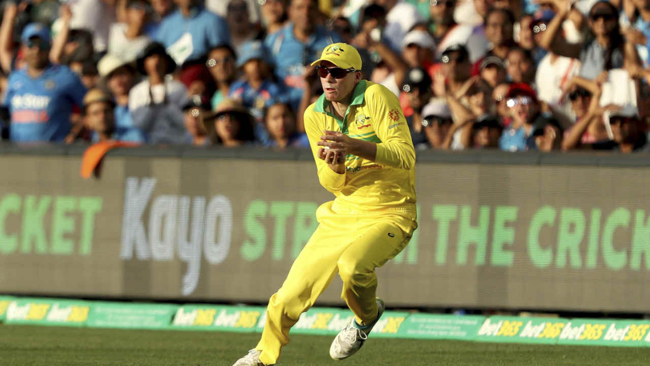 Similar to the first ODI, Rohit Sharma started slowly before picking up the pace. He scored 43 off 52 balls before losing his wicket in the 18th over. Rohit went for a big shot off Marcus Stoinis' bowling but only managed to find Peter Handscomb at deep forward square. India were down to 101/2 at the fall of Rohit's wicket. (Image: AP)