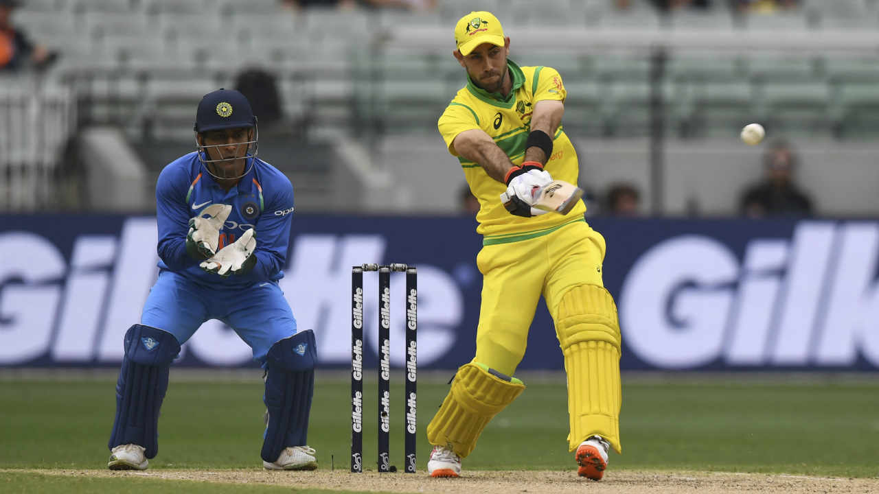 With Australia struggling for runs, Maxwell decided to take on the Indian bowlers. He added a quick-fire 26 off 19 balls before losing his wicket. Maxwell tried to pull a bouncer from Mohammed Shami but Bhuvneshwar standing at deep fine leg came charging in before taking a brilliant diving catch. (Image: AP)