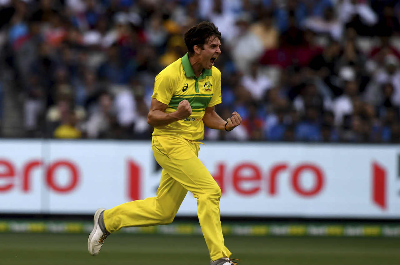 Jhye Richardson (Australia) | Matches: 3 | Innings: 3 | Overs: 30.0 | Wickets: 6 | Best Bowling: 4/26 | Average: 18.66| Economy rate: 3.73 (Image: AP)