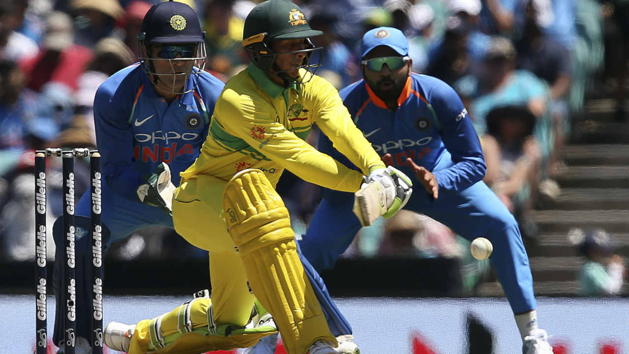 The first match of the ODI series between Australia and India was played at the Sydney Cricket Ground. Australia won the match by 34 runs to take a 1-0 series lead. (Image: AP)