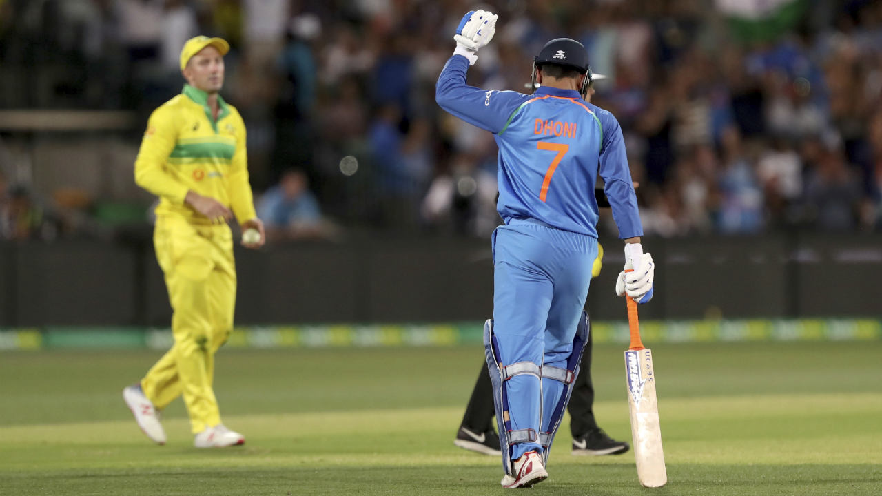 Dinesh Karthik chipped in with a brilliant cameo of 25 off 14 deliveries to take India closer to victory. However, the winning runs came from the willow of India's former captain. Dhoni answered his critics in style with an unbeaten 55 off 54 balls to take India home. With 7 runs needed off the final over, Dhoni hit Behrendorff for a six off the very first ball to put the result beyond doubt. India won the match by 6 wickets with 4 balls remaining to level the series 1-1. (Image: AP)
