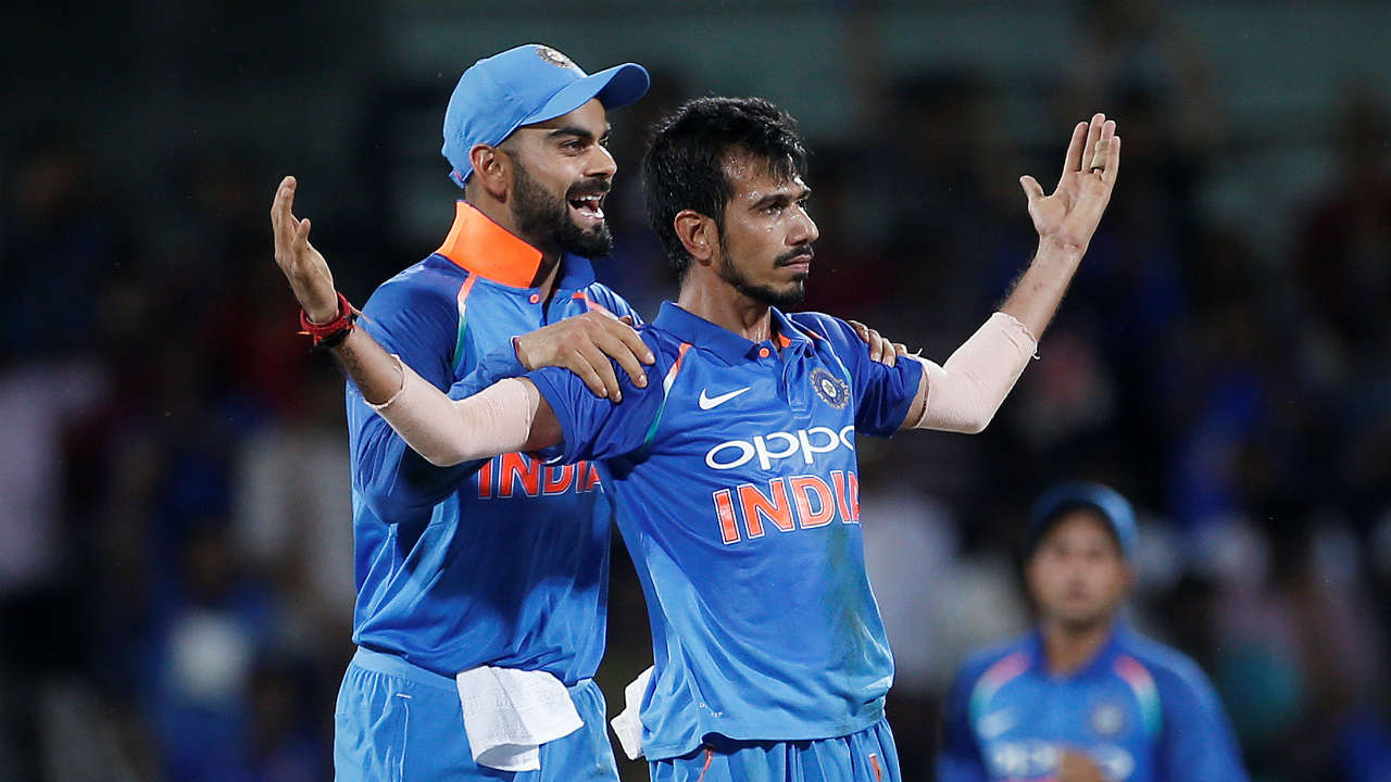 Chahal enters record books | Yuzvendra Chahal marked his return to the ODI squad with a match-winning spell in the decider tie at the MCG. He equalled Ajit Agarkar's record of the best bowling figures in an ODI on Australian soil with his 6/42. He also became only the second spinner after Imran Tahir to record five-wicket hauls in both Australia and South Africa. (Image: Reuters)