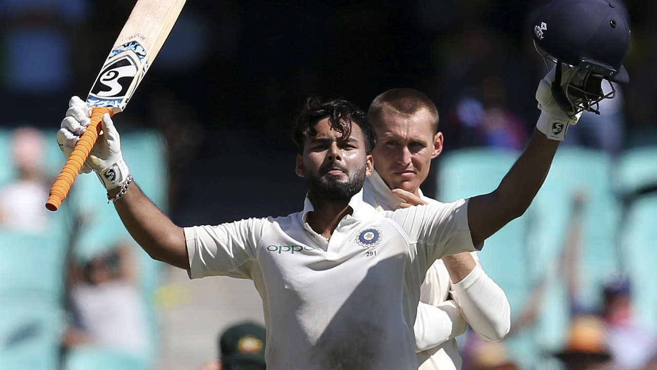1st wicketkeeper with two Test hundreds as a 21-year-old | Pant became the second-youngest wicketkeeper to score a Test ton when he hit Adil Rashid for a six at The Oval to bring up his maiden Test century. His unbeaten 159 at Sydney made him the first keeper in Test history to have two Test tons against his name as a 21-year-old. (Image: AP)