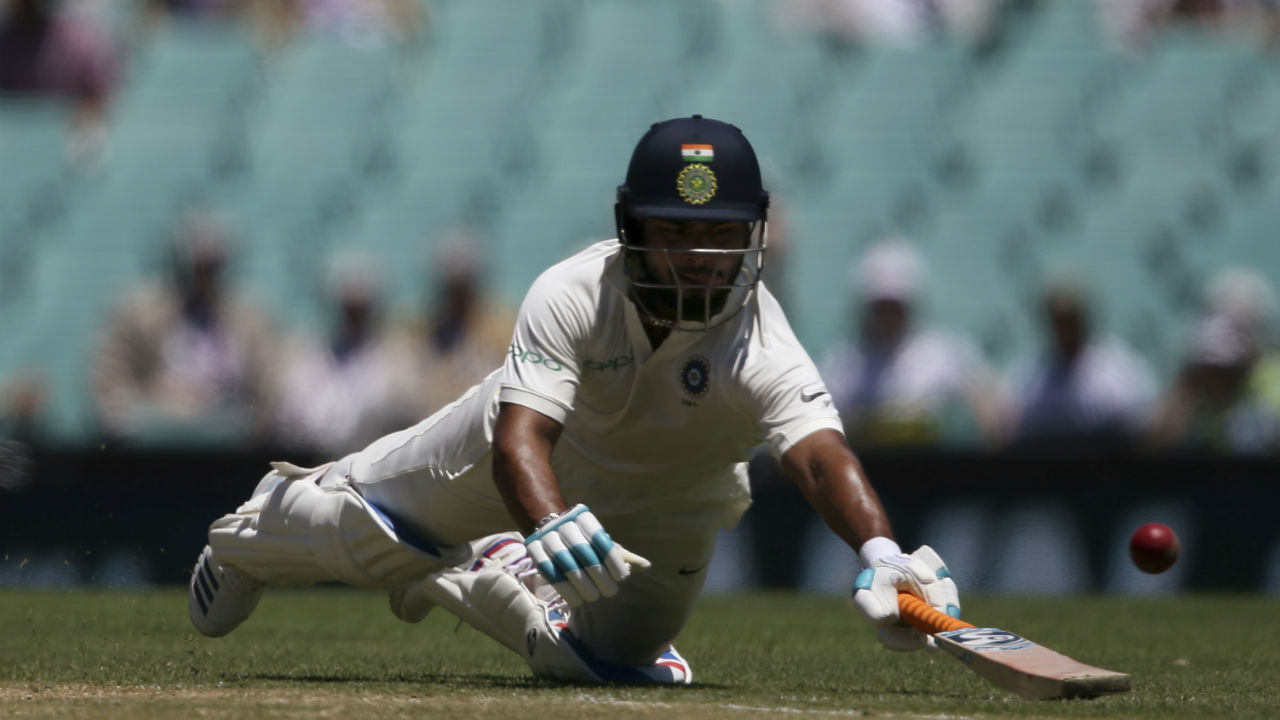 Pant showed great maturity while batting as he completed his third Test half-century. The wicket-keeper batsman got a single off Lyon's delivery to complete the milestone off 85 deliveries. Together with Ravindra Jadeja the duo took India to 491/6 at Tea. (Image: AP)