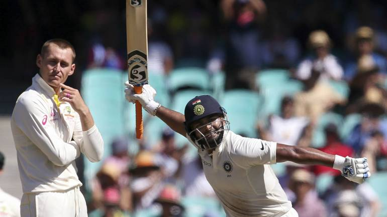Ind Vs Aus 4th Test Day 2 Pant Comes To Party With Ton India Deflate Australia At Scg