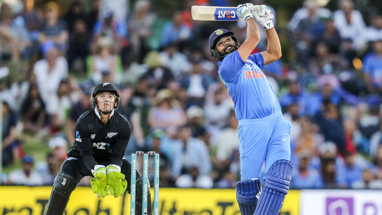 Rohit Sharma (62 off 77 balls) | He took his time to settle in as he scored just 19 runs from the first 33 balls. He finally opened up as he hit a six off Mitchell Santner in the 14th over. Sharma then went on to bully the bowlers as he found the boundaries with ease. He was finally sent back by Santner, who got him stumped in the 29th over. Stats | Runs: 62 | Balls: 77 | 4s: 3 | 6s: 2 | Sr: 80.51. (Image: AP)