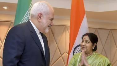 Sushma Swaraj holds talks with Iranian Foreign Minister Javad Zarif on key bilateral, regional issues