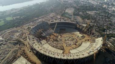 Gujarat will soon be home to the largest cricket stadium in the world