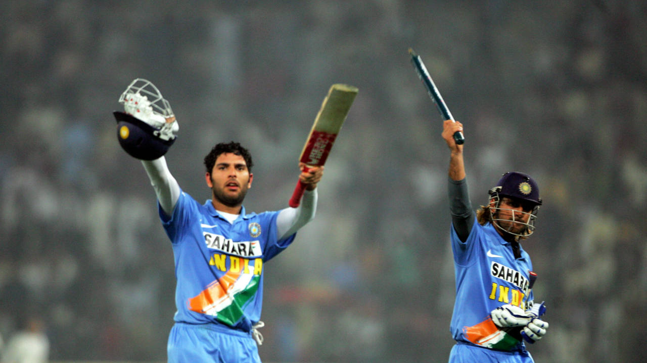 72* vs Pakistan, 2006 (India tour of Pakistan, Lahore) | With India chasing 288 for victory, Gautam Gambhir and Irfan Pathan got out cheaply before Sachin Tendulkar and Rahul Dravid steadied the ship. Sachin was dismissed on 95 leaving Yuvraj Singh and Dhoni to take India home. Dhoni scored a whirlwind 72 off 46 balls, stitching together an unbeaten 102-run partnership with Yuvraj to take India to a 5-wicket win with 14 balls to spare. (Image: Reuters)