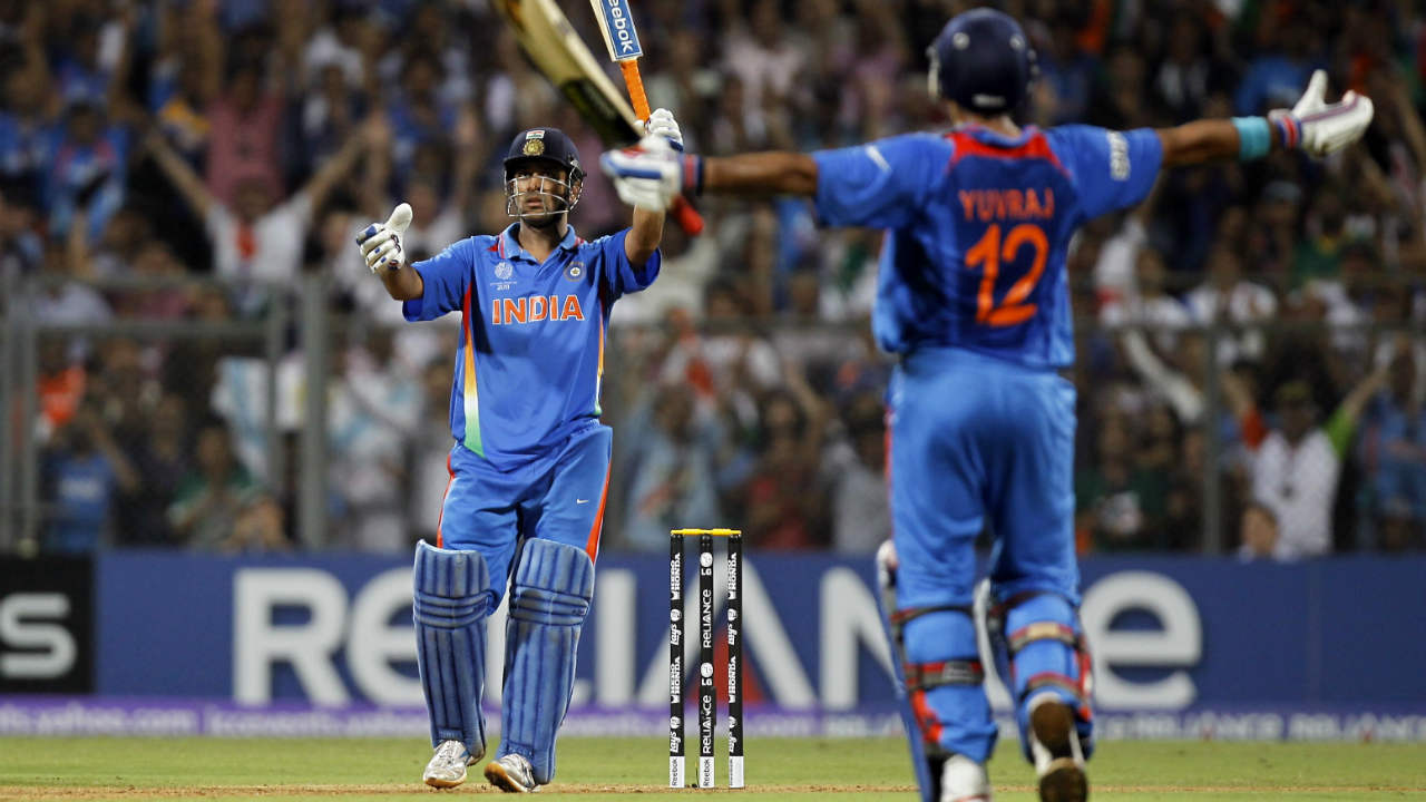 91* vs Sri Lanka, 2011 (ICC Cricket World Cup Final, Mumbai) | Dhoni cemented his legacy as the best-finisher in the business when he stepped up on the biggest stage of International cricket. He won India the World Cup with a six off Nuwan Kulasekara in the penultimate over of the game after walking in to bat with India needing 161 runs off 170 balls. India won the game by 6 wickets with 10 balls remaining. (Image: Reuters)
