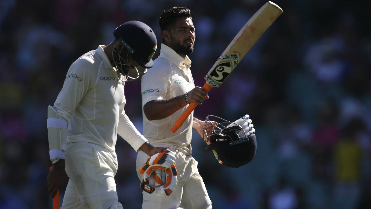 Highest seventh-wicket partnership by a visiting side Down Under | Pant and Ravindra Jadeja blunted the formidable Australian attack in Sydney as they stitched together a 204-run partnership for the seventh wicket. Pant contributed 115 runs off just 110 deliveries during their record-breaking stand. (Image: AP)
