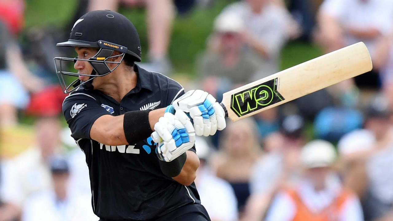 Ross Taylor (New Zealand): Ross Taylor currently sits behind Sharma and Kohli in the ICC ODI rankings. The batsman was at the heart of New Zealand's middle order as he piled 639 runs from just 10 innings at an average of 91.28 while striking at 88.87. His match winning innings of 181* which helped Kiwis chase down a huge 336 against England was one of the finest ODI innings of 2018. In last year the batsman had one century apart from four fifties. 2018 Stats | Innings: 10| Runs: 639 | Average: 91.28| Strike Rate: 88.87 (Image: Reuters)
