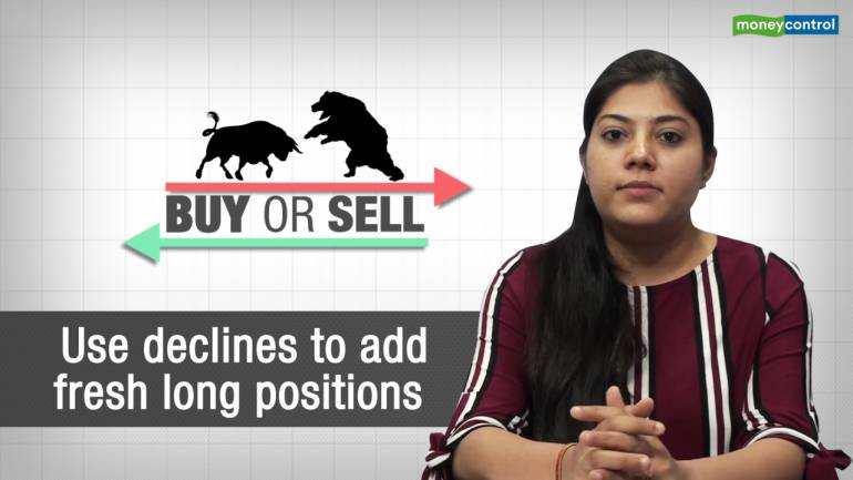 Buy or Sell | Use declines to add fresh long positions