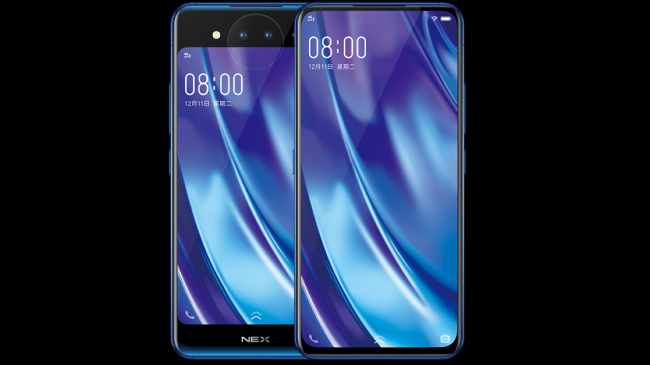 Dual display means business | The Vivo Nex Dual Display Edition utilises two screens to get rid of the front camera. It features a 6.4-inch Super AMOLED display at the front with a maximum resolution of 2340 x 1080 pixels and a secondary screen at the rear with a 5.5-inch FHD AMOLED panel. The dual displays on the phone eliminate the need of the front camera setup, offering a bezel-less design, devoid of a notch. The screen on the back of the phone allows you to capture amazing selfies with the phone's rear triple camera setup. (Image: Vivo)