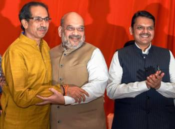 BJP sets target of wining 220 plus seats with allies in Maharashtra polls
