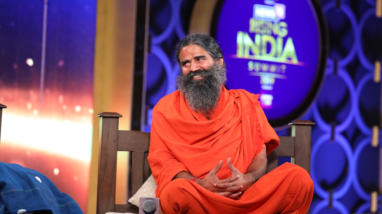 """Nobody can criticise the Bible, nobody can criticise the Quran. But to criticise the Vedas has now become the fashion of a group of people in this country,"" Baba Ramdev said."