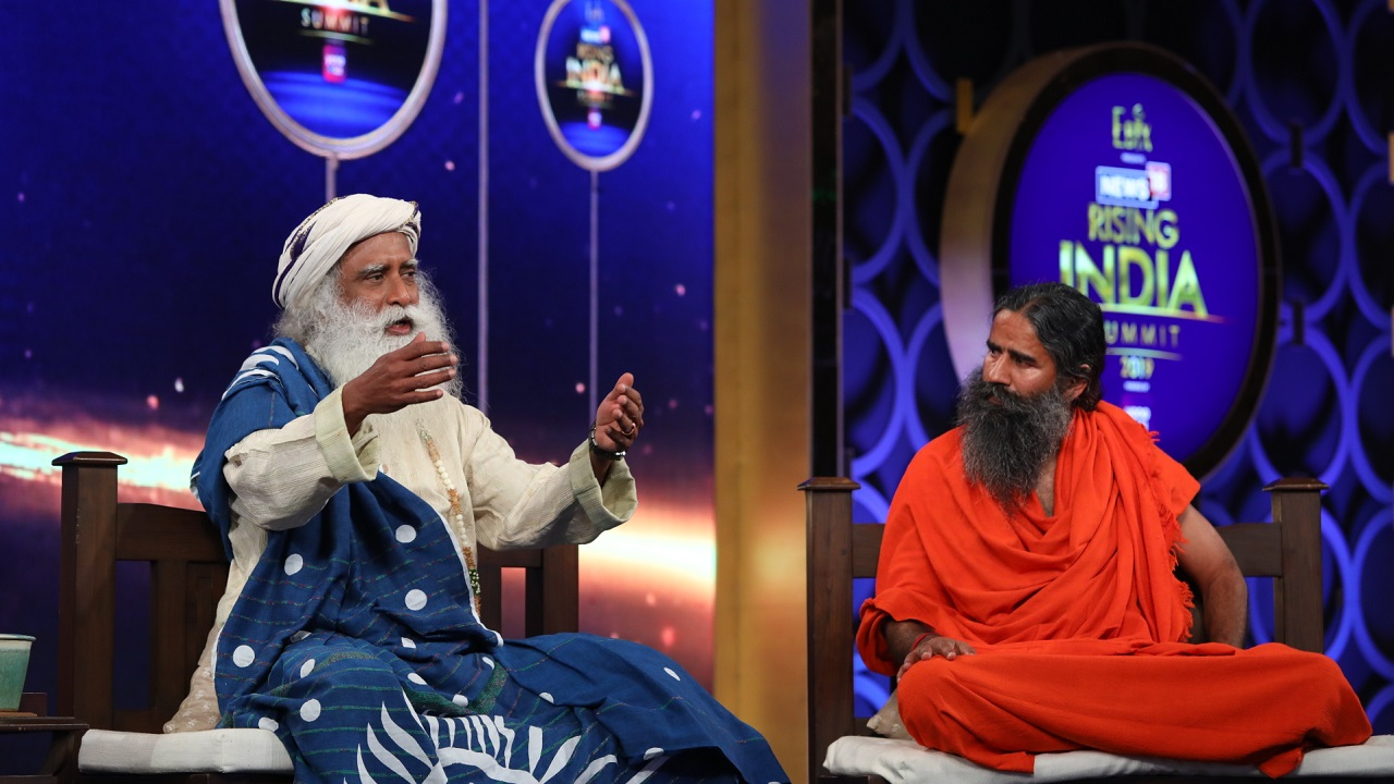 """If spirituality is a disability, let's ban it immediately. Time is rolling fast for all of us. Yoga is a way of managing that time effectively so as to enhance your energy and your life,"" Sadhguru said."
