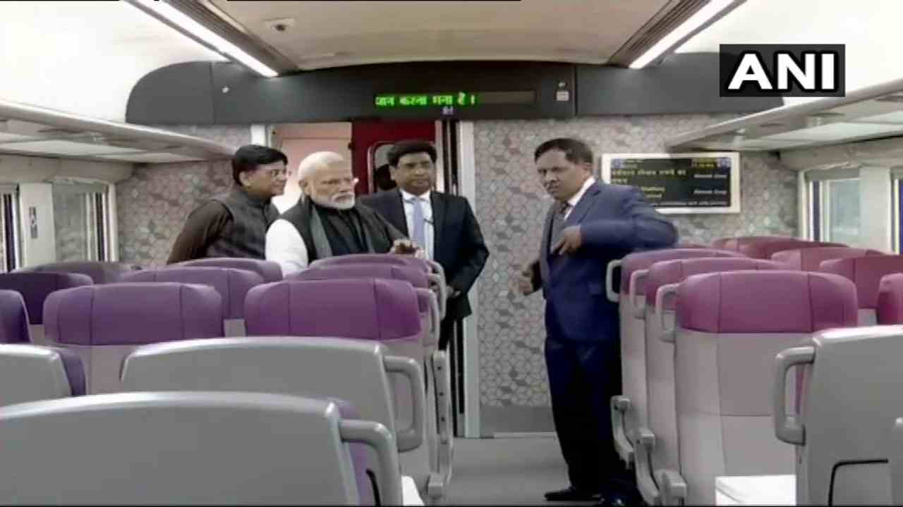 The train will run commercially from February 17, and the bookings have already begun. (Image: ANI)