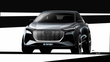 Audi Q4 e-tron concept teased ahead of Geneva Motor Show debut