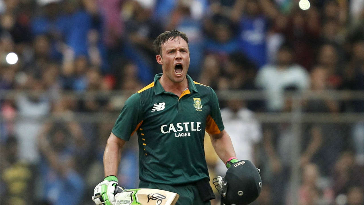 """New Zealand all-rounder Jimmy Nesham said """"Has anyone ever seen AB and Superman in the same room? Didn't think so.. Fear of spiders is arachnophobia. Fear of tight spaces is claustrophobia. Fear of bowling to AB is logic"""". (Image: Reuters)"""