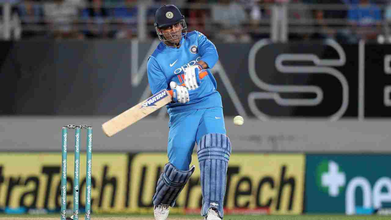 India's MS Dhoni bats during their Twenty/20 cricket international against New Zealand at Eden Park in Auckland, New Zealand. (Image: PTI)