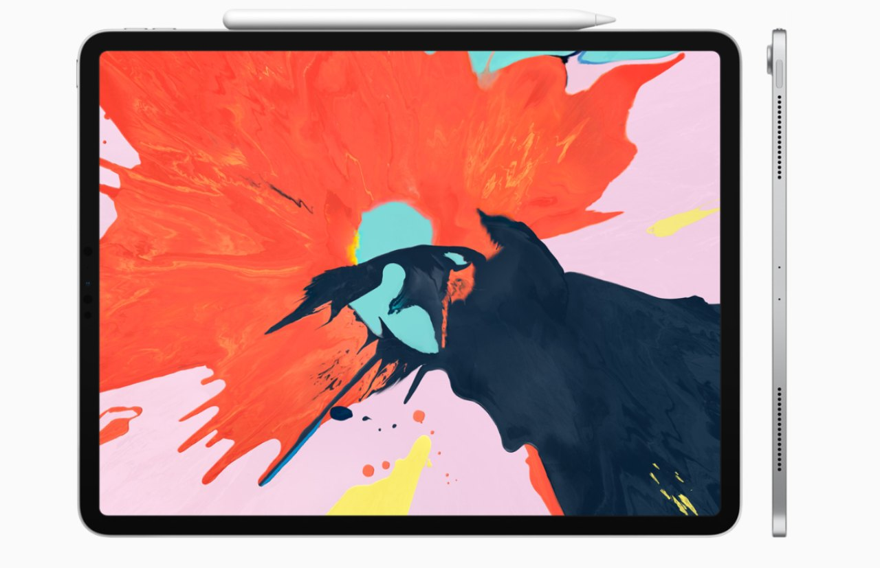 Apple iPad Pro 2018 | If you are willing to let go of the flexibility of a full operating system, the iPad Pro is the perfect instrument to consummate your next masterpiece. Like most Apple workstations, iPad Pro boasts of a great display and its fine-feeling pencil offers precision while drawing and sketching. (Image: Apple)