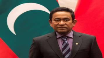 Maldives court orders arrest of ex-leader Yameen