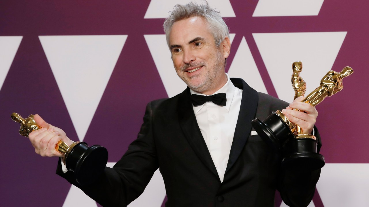 """Best Cinematography: Alfonso Cuaron, """"Roma"""" (Image: Reuters)"""