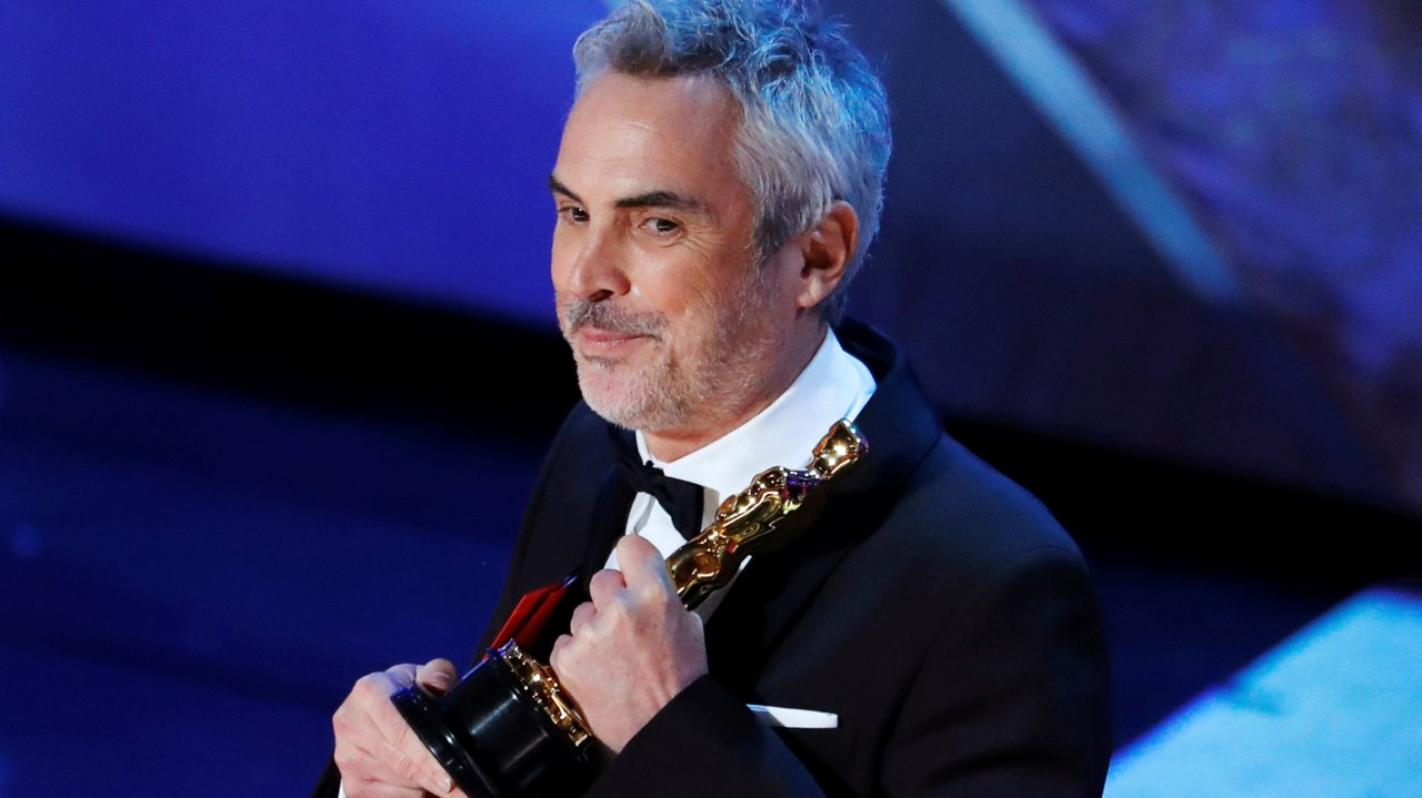 """Best Director: Alfonso Cuarón, """"Roma"""" (Image: Reuters)"""