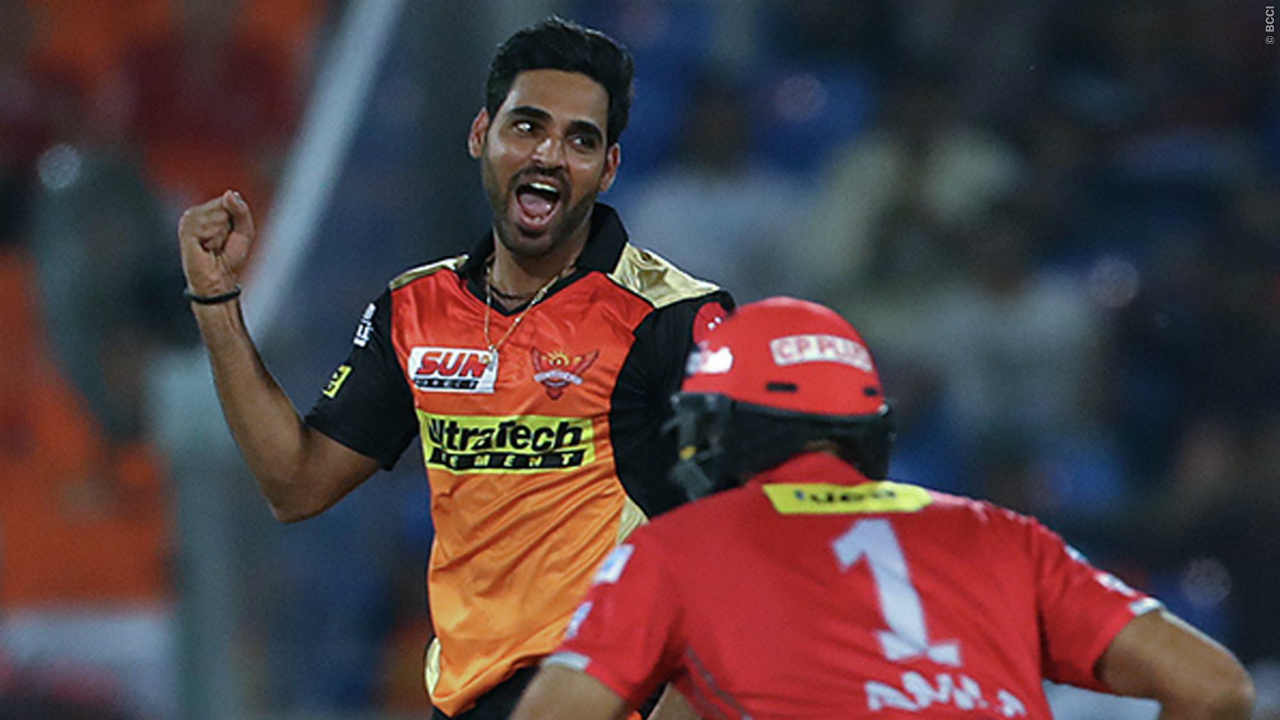 6. Bhuvneshwar Kumar | IPL Teams: Sunrisers Hyderabad, Royal Challengers Bangalore, Pune Warriors| Matches: 102|Innings: 102 | Overs: 376.2 | Runs conceded: 2,693| Wickets: 120| Best Bowling: 5/19 | Average: 22.44 | Economy: 7.15 | Strike Rate: 18.81 | 4-wickets: 2 | 5-wickets: 1 (Image: BCCI, iplt20.com)