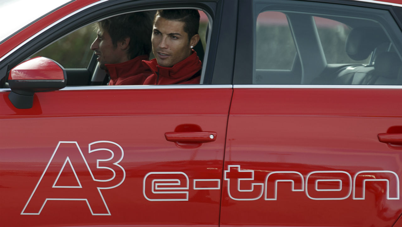 CR7 on Hot Wheels | An athlete as big as Ronaldo makes some serious cash, and so of course he's owned his fair share of luxury sports cars. His collection includes 19 cars that are worth around $19 million. The cheapest car he owns is a Mercedes-Benz C220 CDI. The most expensive? None other than the Bugatti Veyron, of course. (Image: Reuters)