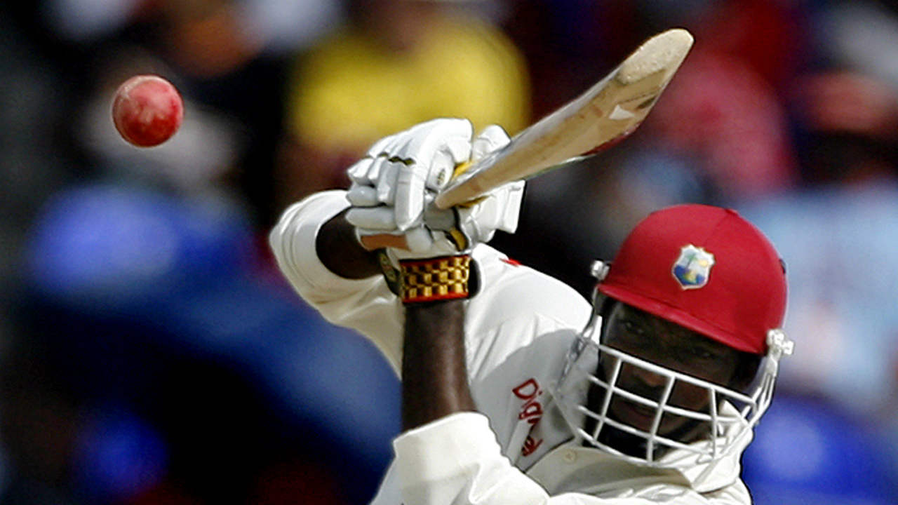 Chris Gayle holds the unique record of hitting the first ever ball of a Test match for a six. The event happened in 2012 when he lifted Bangladesh spinner Sohag Gazi for six. (Image: Reuters)