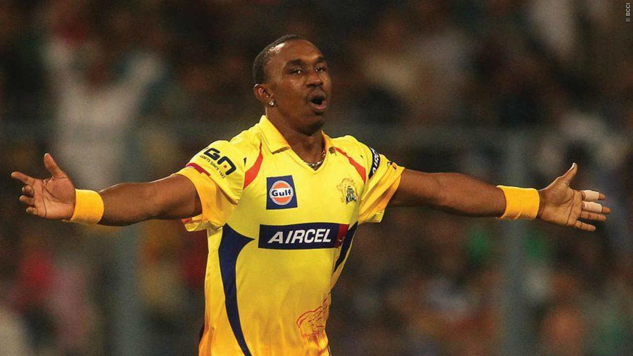 4. Dwayne Bravo| IPL Teams: Chennai Super Kings, Mumbai Indians| Matches: 122|Innings: 118| Overs: 386.5 | Runs conceded: 3,251| Wickets: 136| Best Bowling: 4/22 | Average: 23.90 | Economy: 8.40 | Strike Rate: 17.06 | 4-wickets: 2 | 5-wickets: 0 (Image: BCCI, iplt20.com)