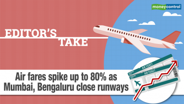 Editor's Take | Air fares spike up to 80% as Mumbai, Bengaluru close runways