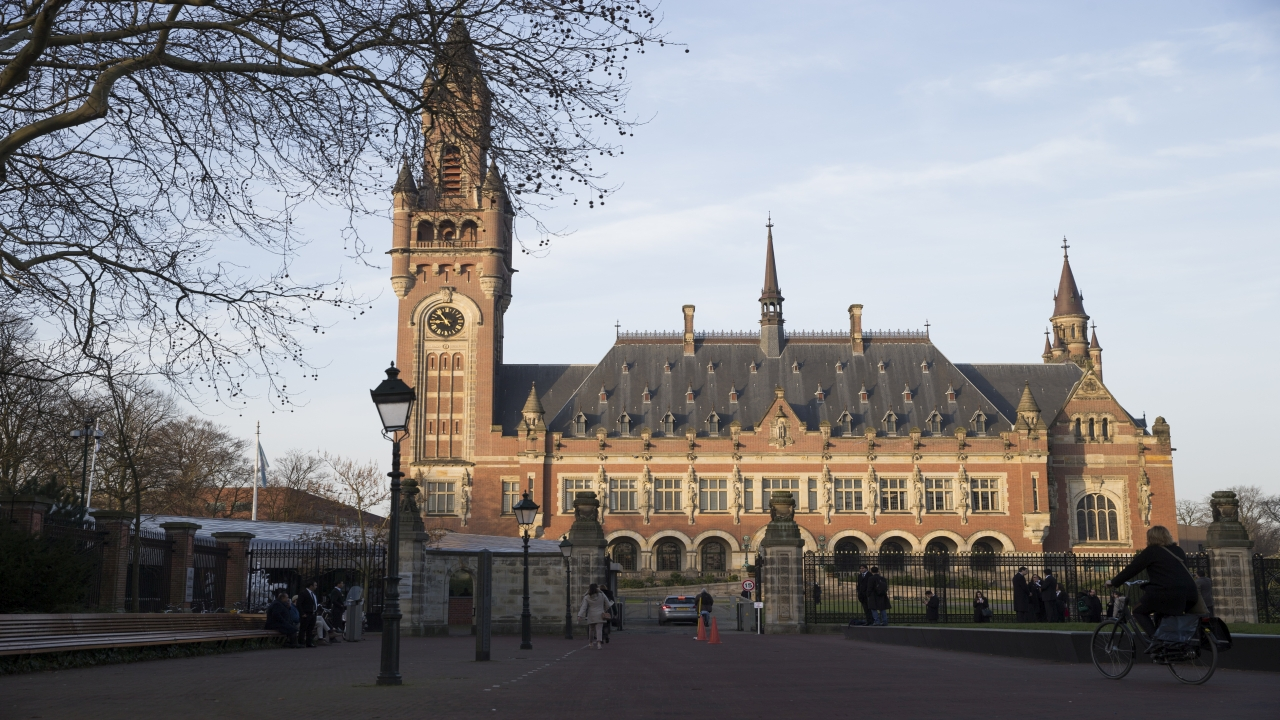Exterior view of the Peace Palace, which houses the International Court of Justice, or World Court, in The Hague, Netherlands, Monday, Feb. 18, 2019. India is taking Pakistan to the United Nations' highest court in an attempt to save the life of an Indian naval officer sentenced to death last month by a Pakistani military court after being convicted of espionage. (Image: AP)