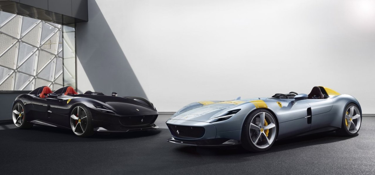 Ferrari Monza SP2 and SP1 | $1.8 million | Units produced: 499 (combined) | 0-62 mph: 2.5 seconds | Top speed: 186 mph (Image: Ferrari)