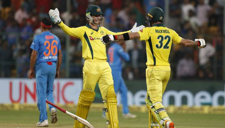 Ind Vs Aus 2nd T20i Marauding Maxwell Fires Australia To Maiden T20 Series Win Over India