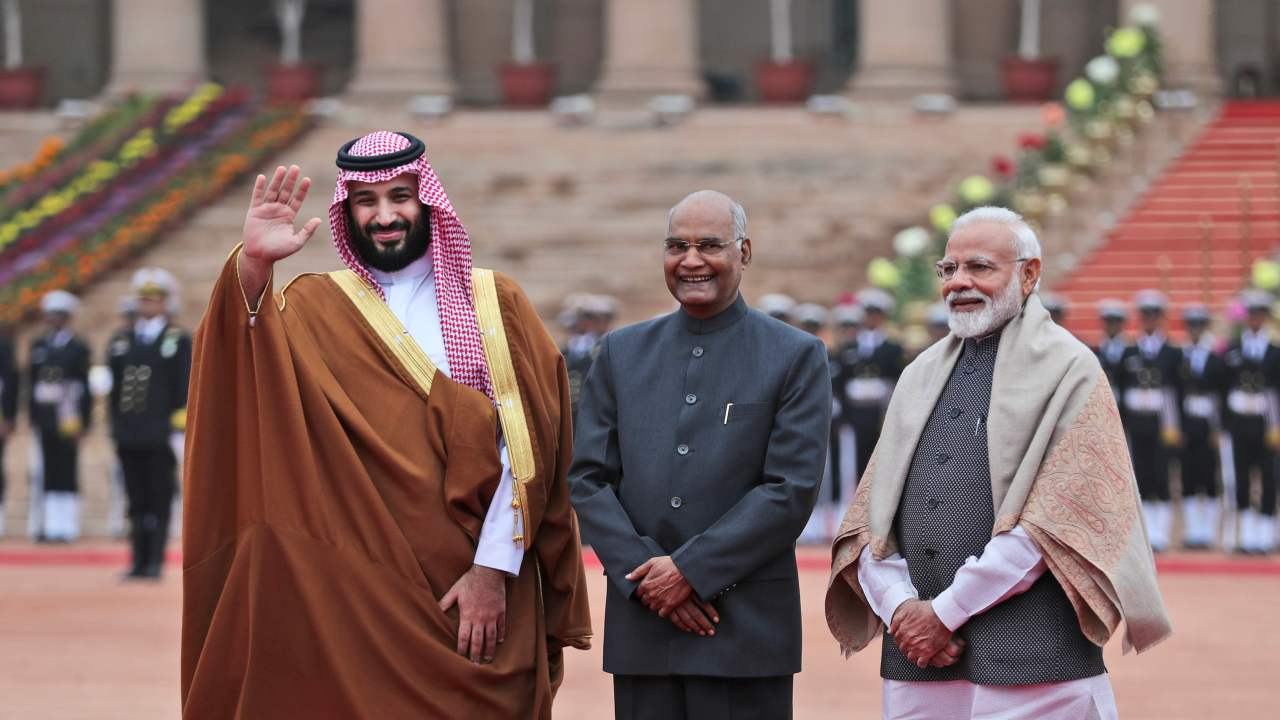 Trade and Investment | Since Modi's visit to Riyadh, the two nations have shared a salubrious bilateral trading relationship, doing business worth $27.48 billion in 2017-18 alone. The Middle Eastern country is also ranked 15th in terms of country-wise FDI in India globally. Furthermore, the Union Cabinet chaired by Modi approved the signing of an MoU between the two countries, earlier this month, that will establish a mechanism for investment infrastructure in India. (Image: AP)
