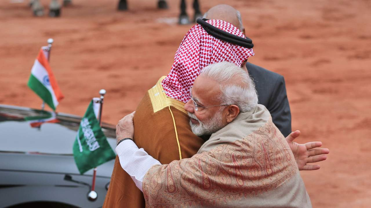 "Security, politics and culture | Saudi is one of the eight strategic partners with whom India intends to deepen partnership in areas of Security, politics and culture. ""As part of this engagement, we are finalizing the setting up of 'Strategic Partnership Council' between the two countries at ministerial level. We are confident that this will give greater thrust to our strategic partnership and take forward our discussions in a focussed and action-oriented manner,"" Tirumurti said. (Image: AP)"