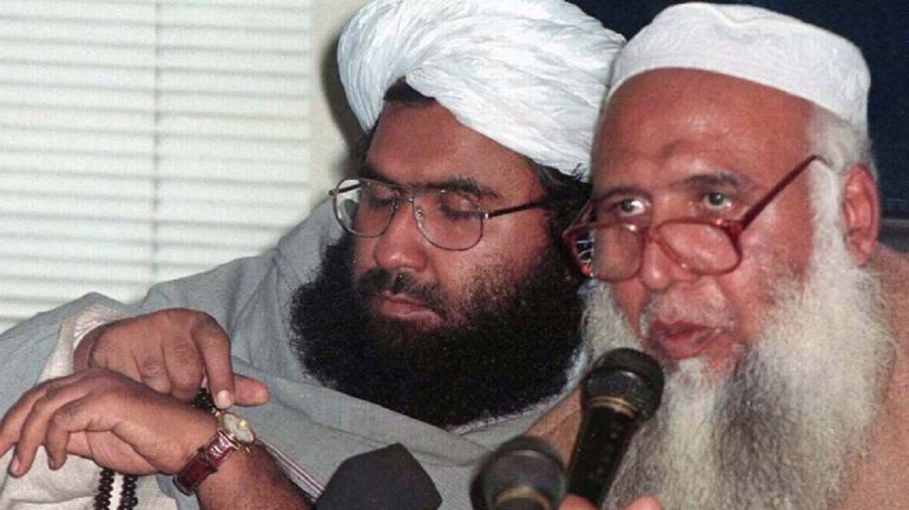 Casualties: The IAF primarily targeted the biggest JeM camp headed by Maulana Yusuf Azhar, alias Ustad Ghauri (not in pic) - brother-in-law of JeM Chief Masood Azhar (L). According to Foreign Secretary Vijay Gokhale, the location of the strike was chosen to make sure there were no civilian casualties. The total number of reported casualties were more than 200, though Pakistan has denied the same. (Image: Moneycontrol)