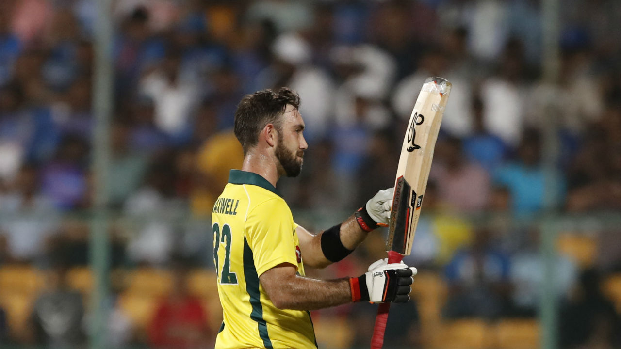 Maxwell completed his century off 50 balls in the penultimate over. It was his third T20I hundred. For his fifty and hundred he was adjudged Player of the Series. (Image: AP)