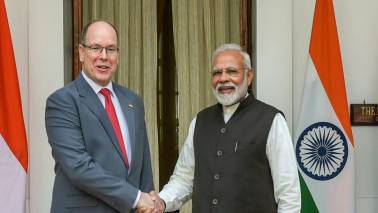 PM Narendra Modi holds talks with Monaco's Prince Albert II, discusses combating climate change