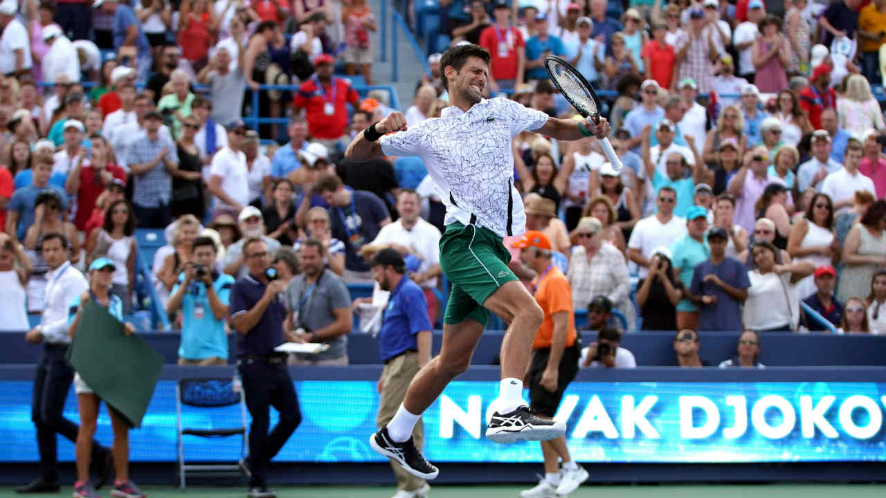 He is the first man ever to win three slams or more in a row three times. Previously Djokovic has strung together streaks of four -Wimbledon 2015 to French Open 2016- and three Wimbledon 2011 to Australian Open 2012. (Image: Reuters)