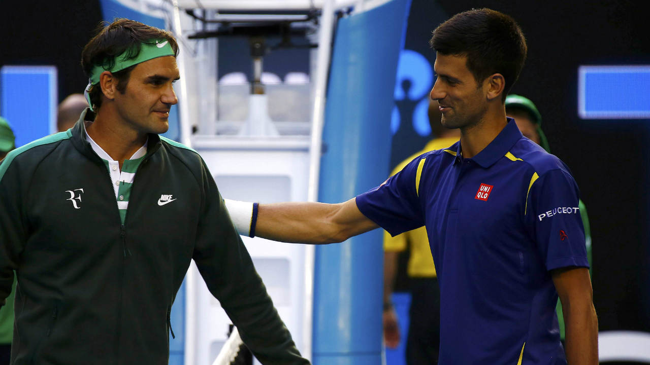The Serbian holds better head to head record against two of his contemporaries Roger Federer and Rafael Nadal. Against Federer Djokovic enjoys a 25-22 record while against Nadal it is 28-25. (Image: Reuters)